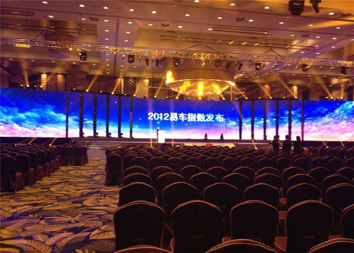 Fan Free Design P6mm Stage Rental LED Display High Definition Visual Effect 576*576mm Cabinet