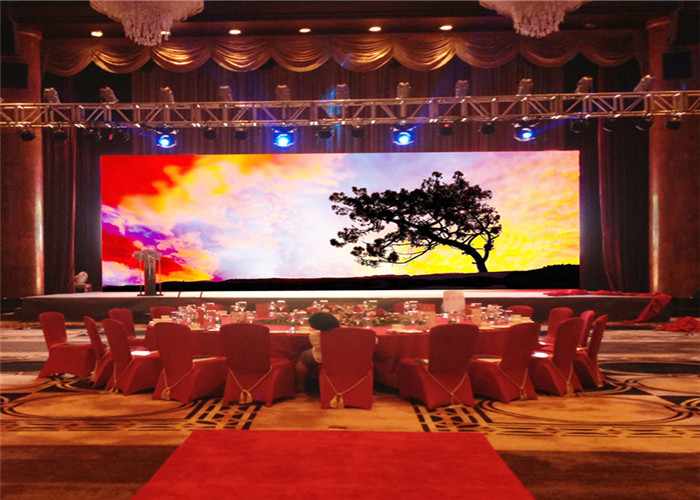 P3.91mm Stage Rental LED Display 250*250mm Module For Performance Shows Dustproof High Contrast